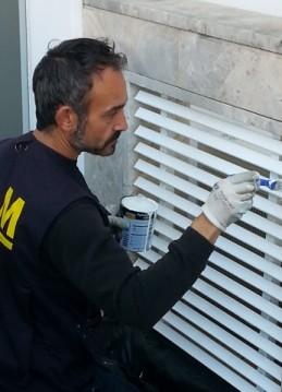Pequeño trabajo de mantenimiento (pintura)